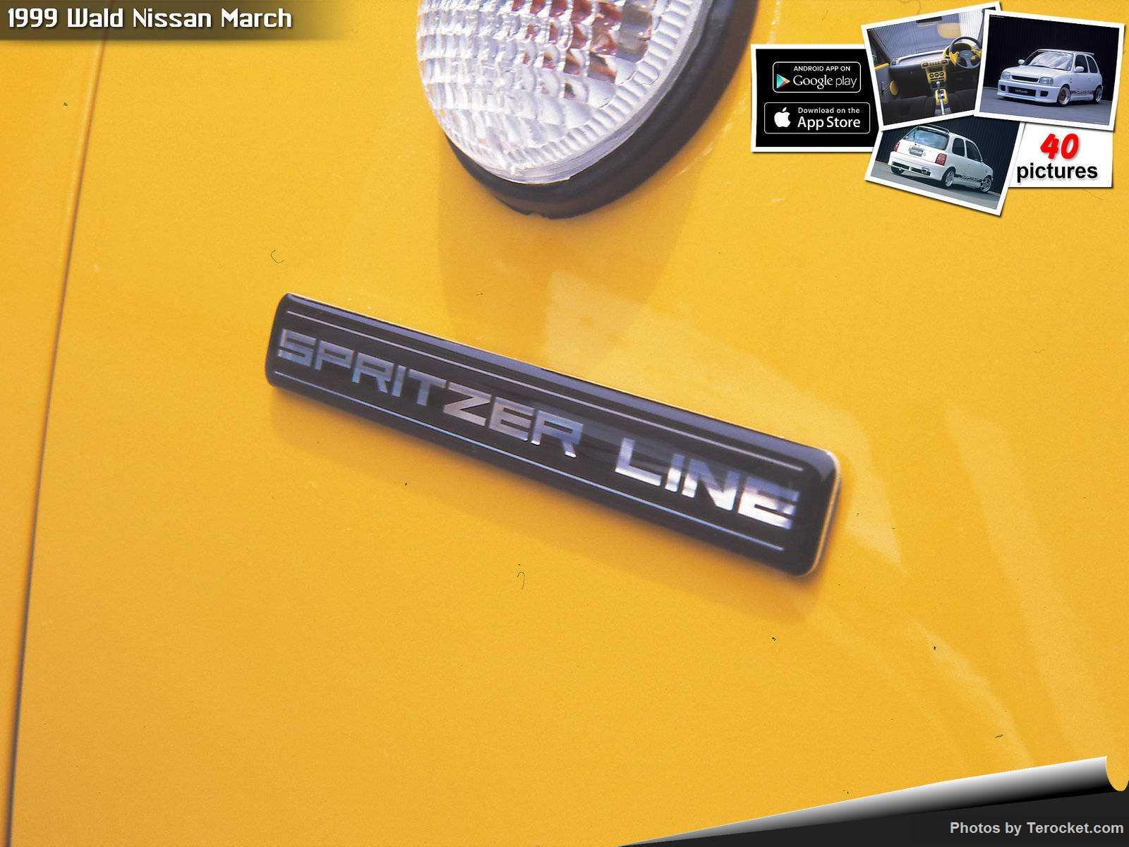 Hình ảnh xe độ Wald Nissan March 1999 & nội ngoại thất
