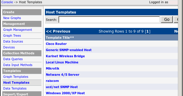 Tech note how to import mikrotik host template to cacti maxwellsz