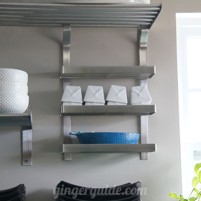 Ikea grundtal paper towel holder for Ikea grundtal spice rack