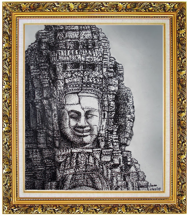 My Drawing Of Bayon