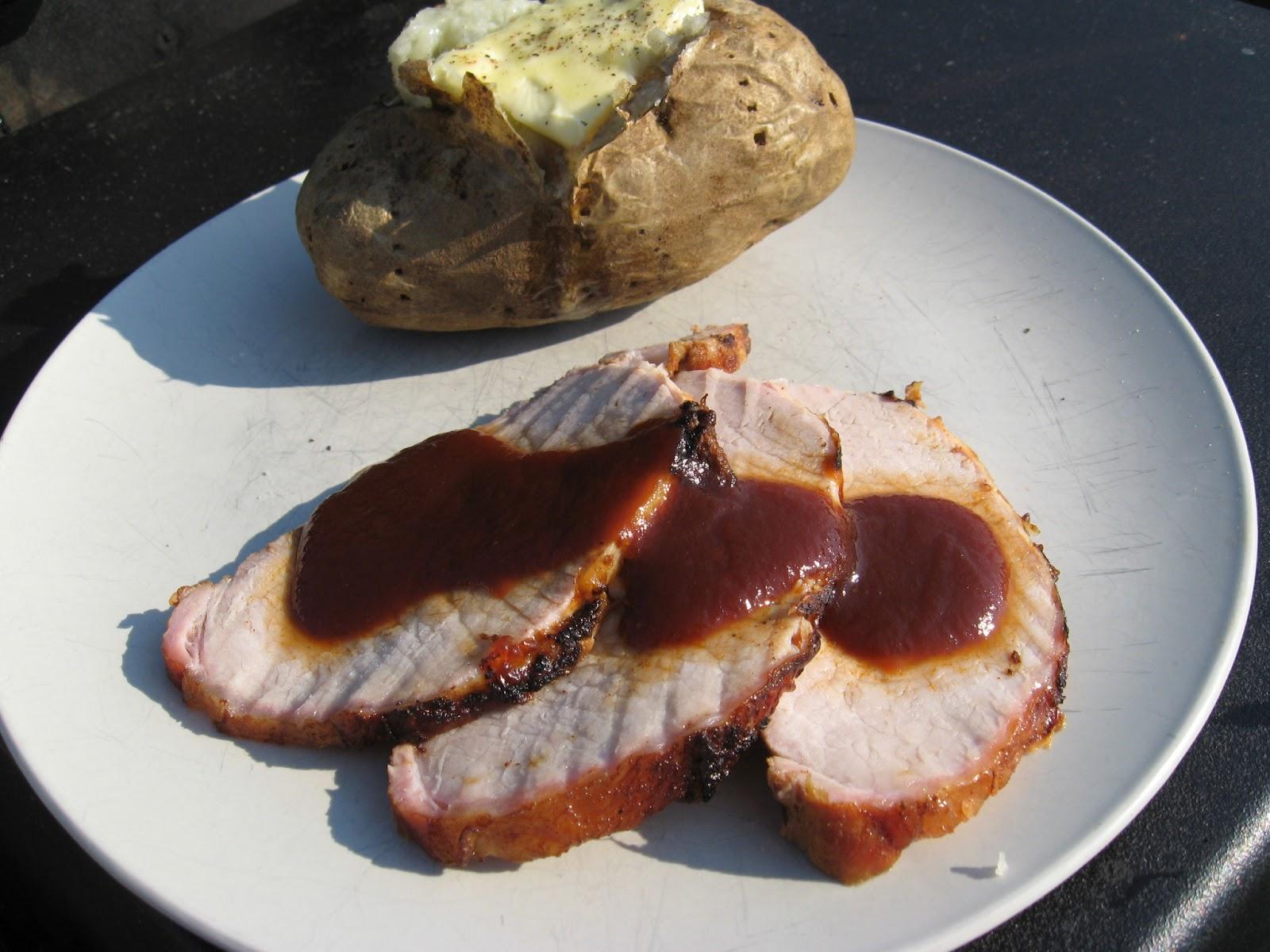 Recettes de flipp longe de porc marin e la bi re et napp e de sauce bbq au dr pepper - Que faire au barbecue original ...