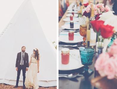 Inspiración. Una boda en un rancho (II)