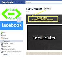 FBML in Facebook