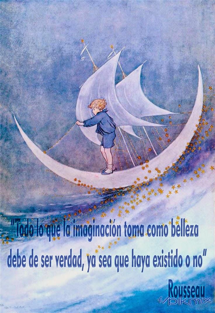 Imaginación ● Citas ●Rousseau, niño, luna