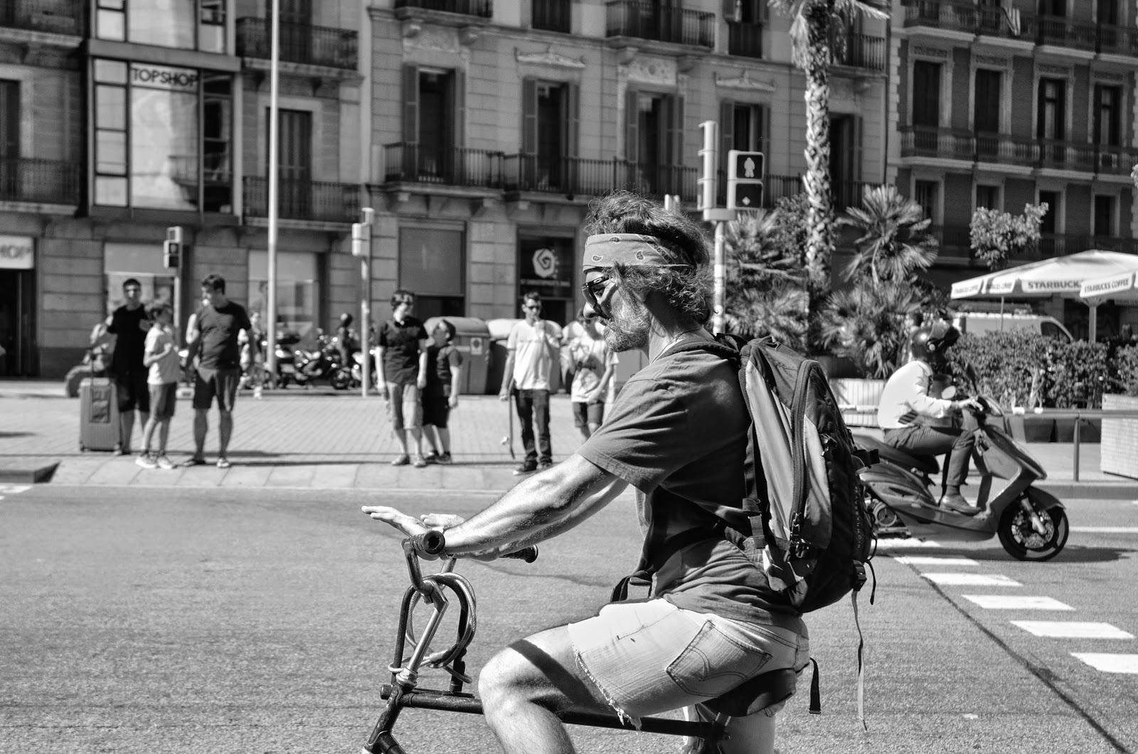 Barcelona biker [enlarge]