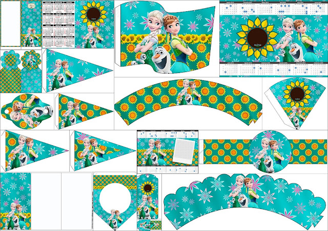 Candy buffet banner happy birthday banner candy table - Frozen Fever Free Party Printables Is It For Parties