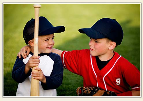 формируйте бейсбольный характер