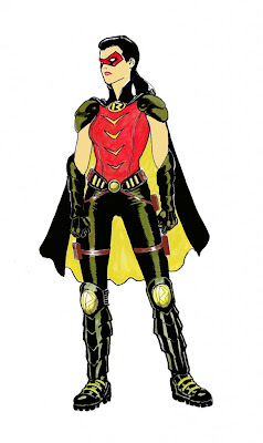 Earth 2 Robin designed by Kevin Maguire