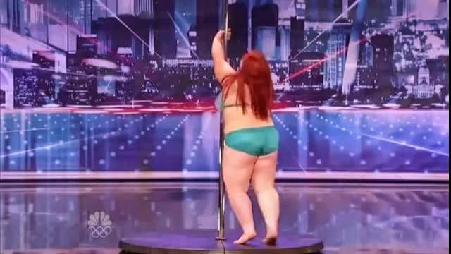 La plus grosse pole-danseuse du monde, Lulu, 29 ans, 114 kg