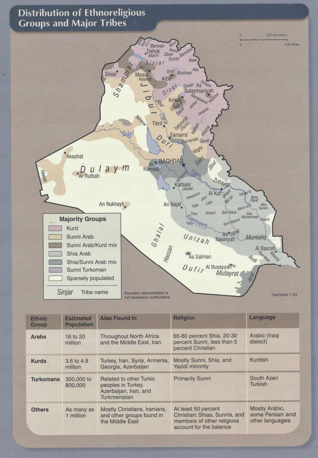 maps of iraq from ball state university libraries