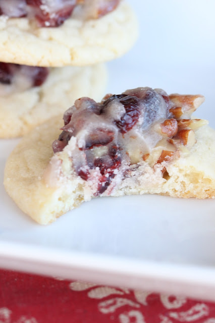 Cranberry Pecan Thumbprint Cookies | Tortillas and Honey
