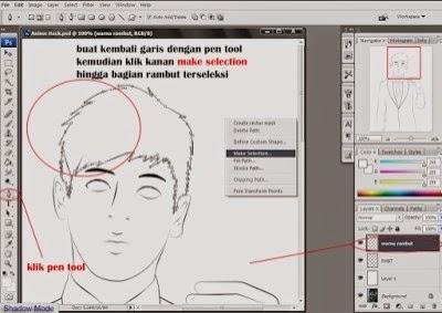 Tutorial Cara Merubah Foto Menjadi Anime Dengan Photoshop