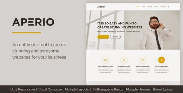 Multipurpose WordPress Theme 2015