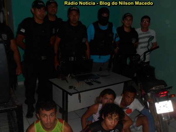 TRINDADE-PE: Polícia Militar desmantela quadrilha que atuava roubando postos de combustíveis na Região do Araripe