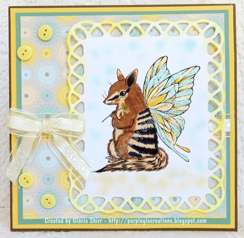 Featured Card at Scrapbook Stamp Society