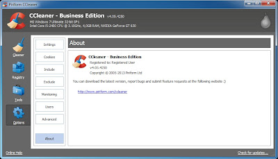 Download CCleaner Professional + Business Edition Final
