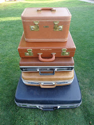 suitcases...SOLD