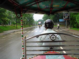 Tuk -Tuk in Kambodscha