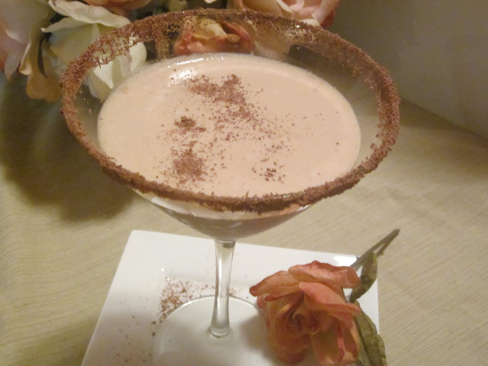 Hungry Couple: Creamy Dreamy Chocolate Martini