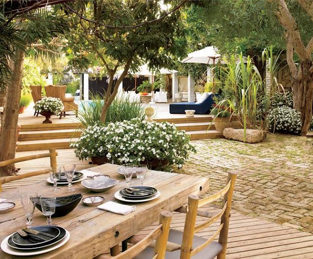 Estilo rustico patios rusticos italianos for Patios rusticos