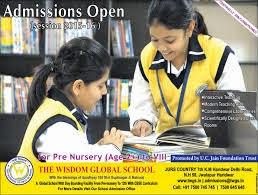 The Wisdom Global School Haridwar logo