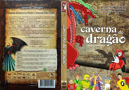 Caverna Do Dragão 1ª a 3ª Temporada Torrent - BluRay Rip