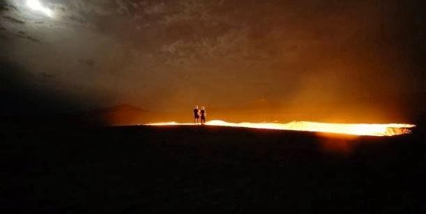 """""""La puerta del infierno"""" en pleno desierto 0001345852"""