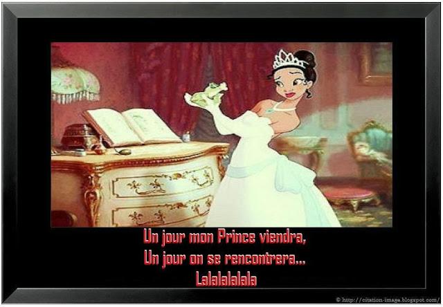Citation un jour mon prince viendra en image