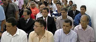 A equipe de Conceição Rabha