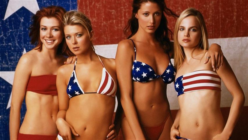 American pie lick scene