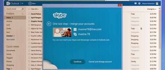 skype desde outlook