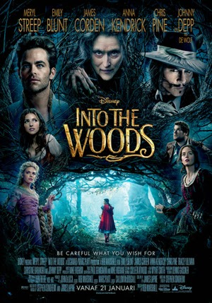 Into The Woods 2014 poster