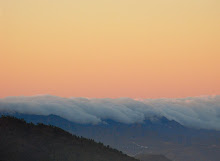Mar de nubes sobre Anaga