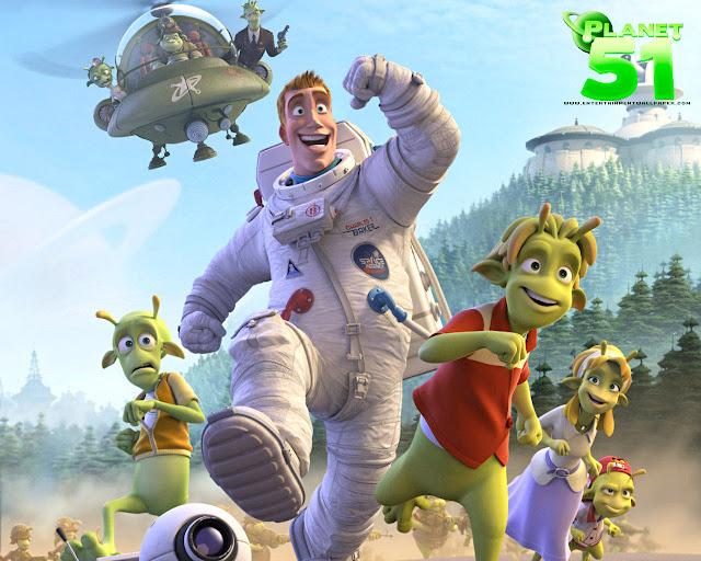 planeta 51 um filme para animar a familia