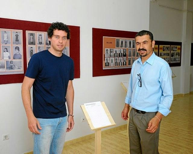 """Una muestra del archivo fotográfico de los hermanos Robaina en la exposición """"Teldenses"""""""