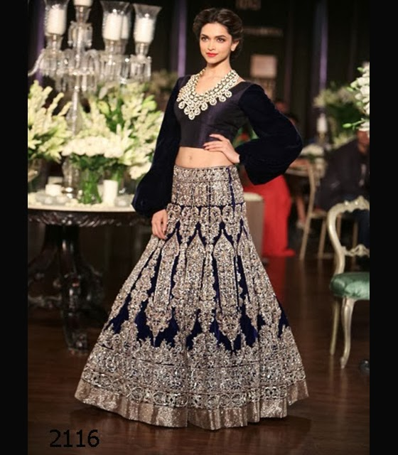 Deepika Padukone goes 'Desi' for Manish Malhotra