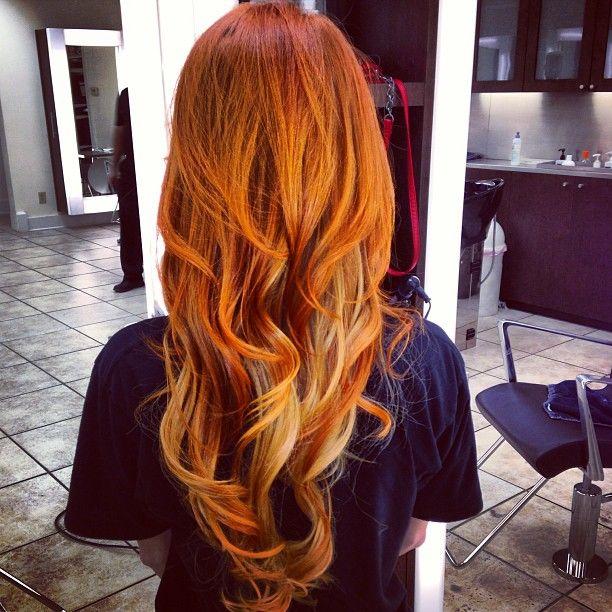 Sehr Awesome Pumpkin Spice Hair! BC62