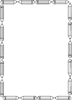 borda lapis preto e branco