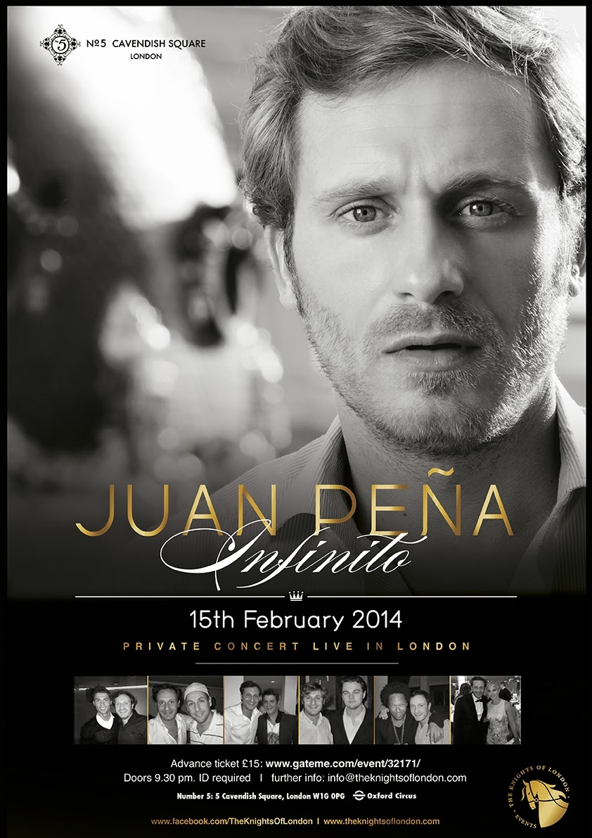 Juan Peña en Londres