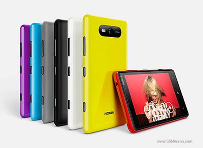 Inilah Nokia Lumia 820 WindowsPhone Prosesor Dual-core Qualcomm S4