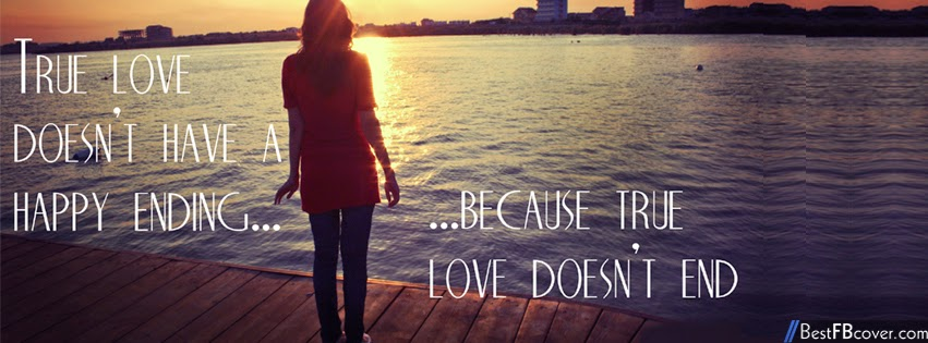 Sad Love Facebook Cover Photos