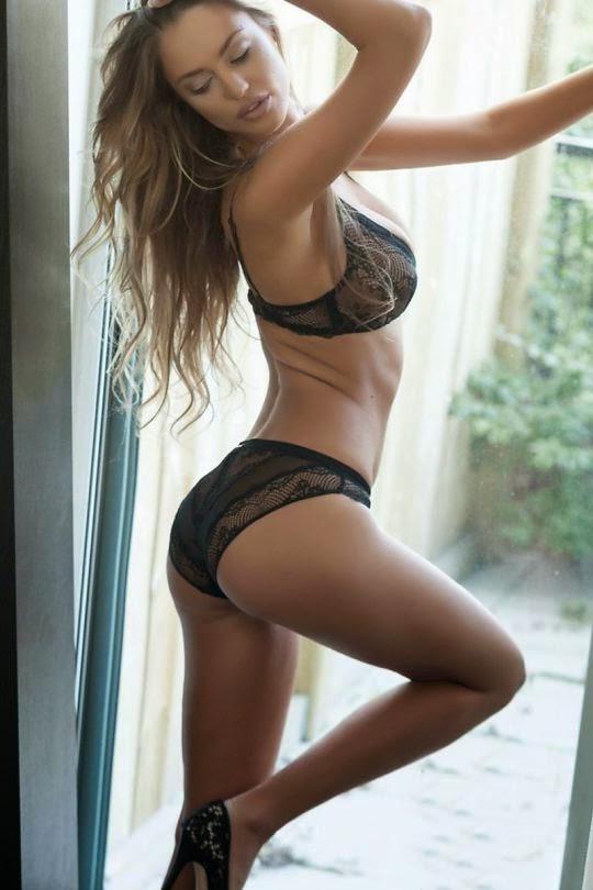 Charlie Riina Guys Magazine Bikini Pictures