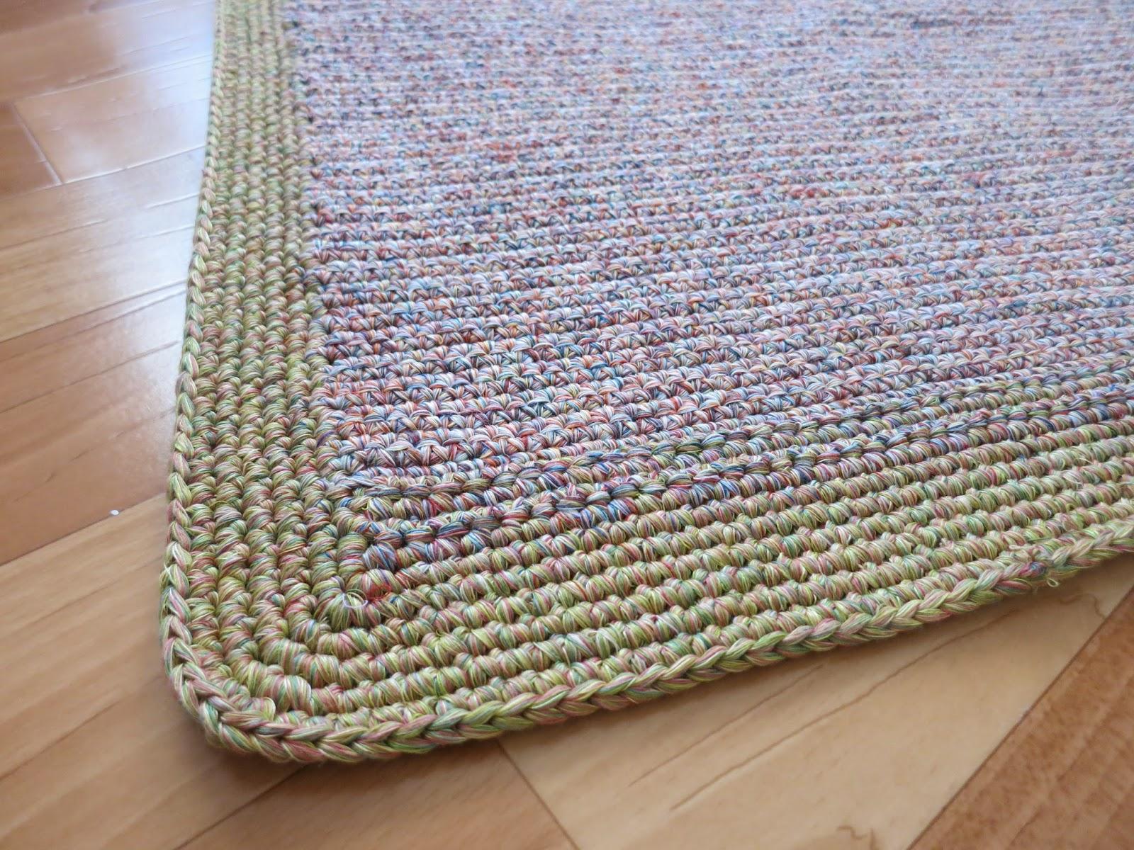 Какими нитками вяжут ковры