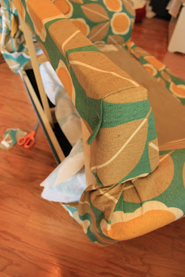 how to re-upholster mandy made