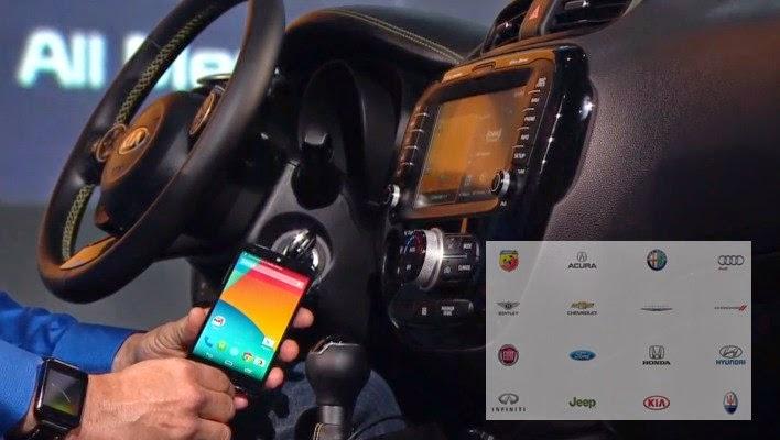Androidauto Tanıtıldı