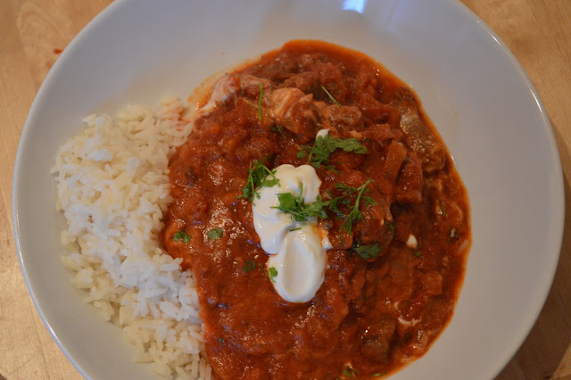 homemade Mexican style beef stew