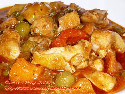 Special Chicken Kaldereta