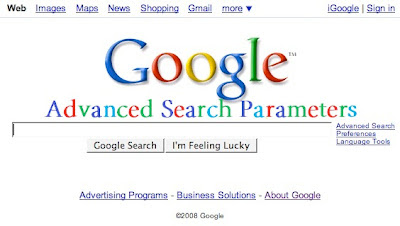 Google Search Parameters
