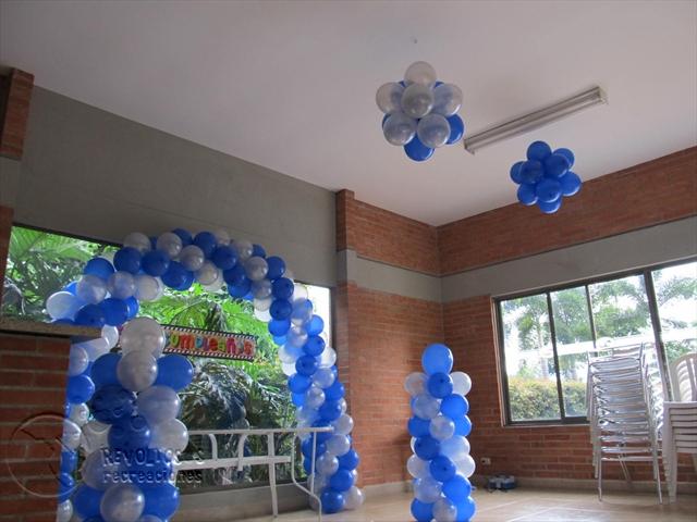 Recreacionistas medellin decoracion con globos fiestas for Decoracion de globos para hombres
