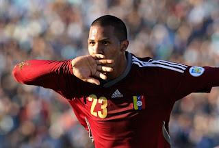 Salomón Rondón, el nuevo objetivo del Chelsea